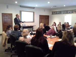 Speaking to Professional Women of Williamson County