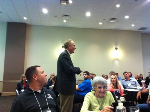 Marc Miller Speaking to Network In Austin