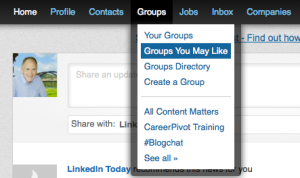 LinkedIn Groups You May Like