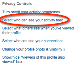 Privacy Controls