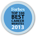 Forbes Top 100 Best Career Website