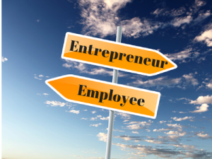 entrepreneur to employee