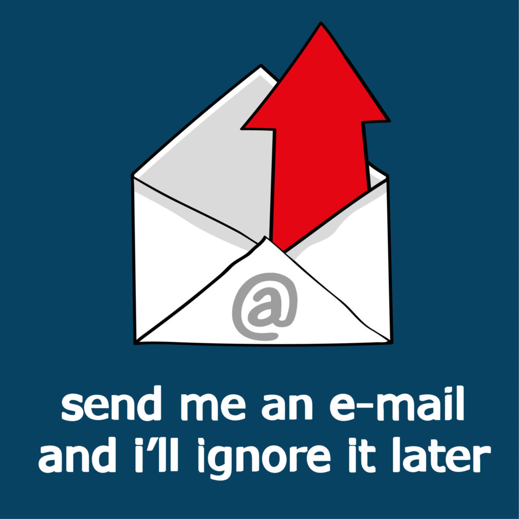 emails ignored