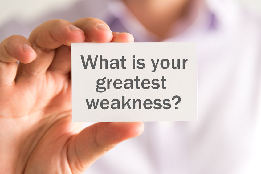 how to answer  what is your greatest weakness   guest post