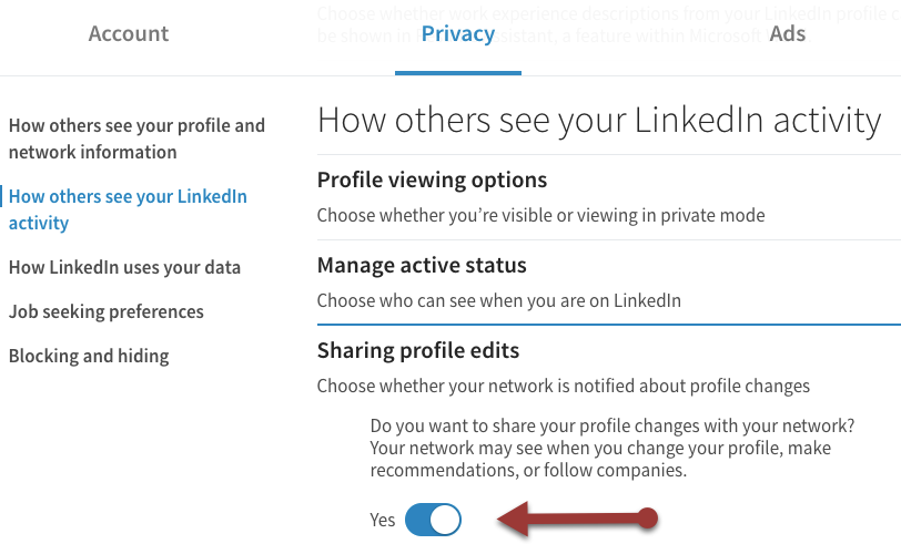 Do You Have a LinkedIn Profile Update Strategy?