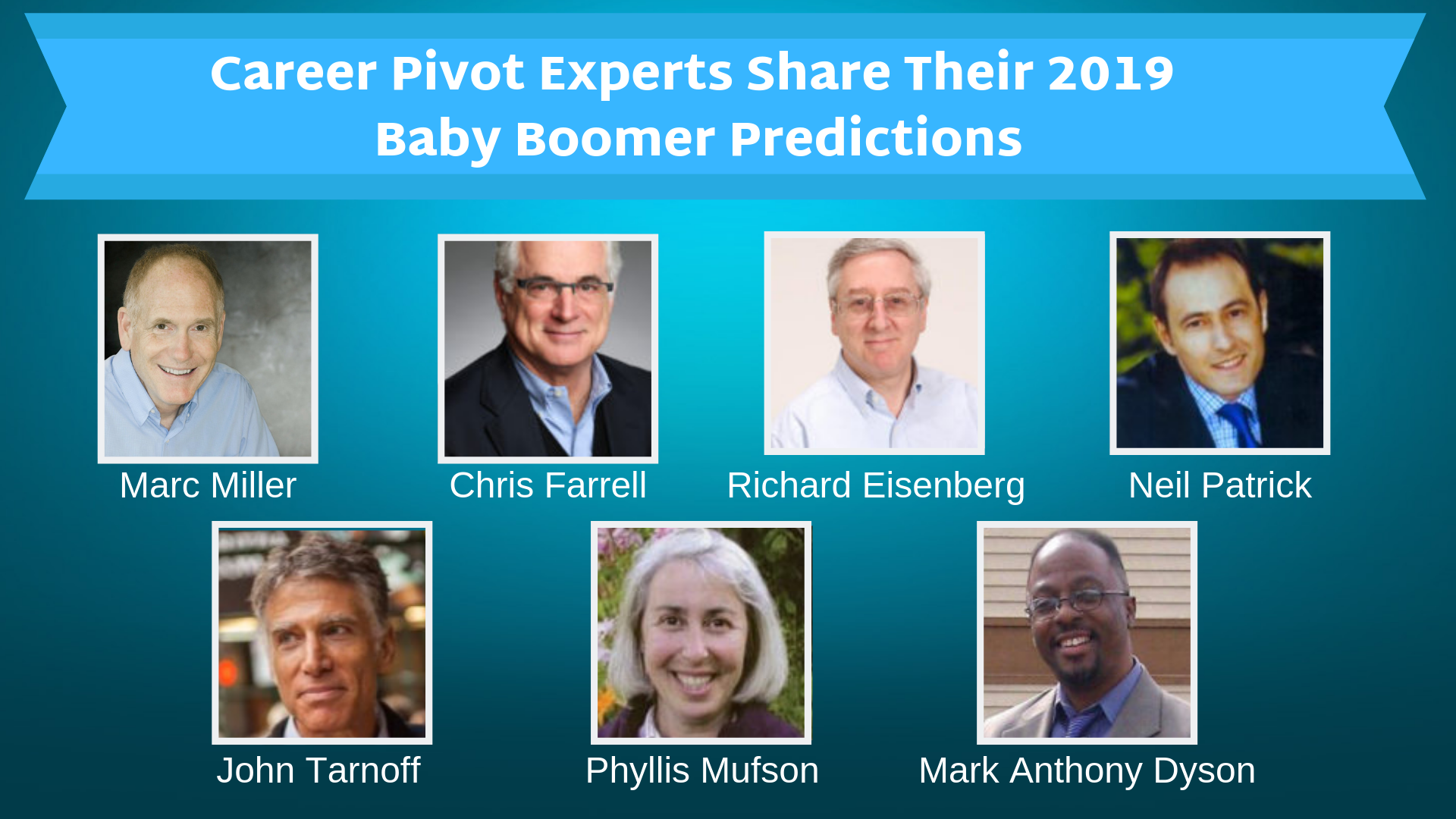 Career Pivot Experts Share Their 2019 Baby Boomer Predictions
