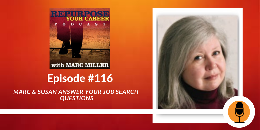 Marc & Susan Answer Your Job Search Questions