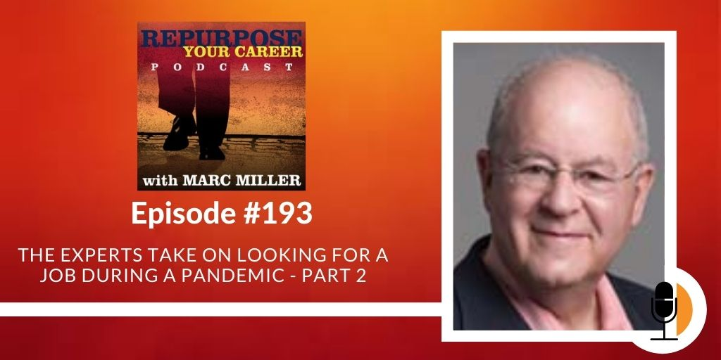 The Experts Take on Looking for a Job During a Pandemic - Part 2 [Podcast]