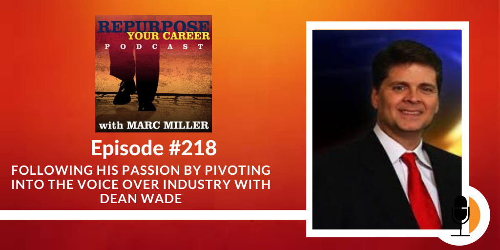 Following his Passion by Pivoting into the Voice Over Industry [Podcast]